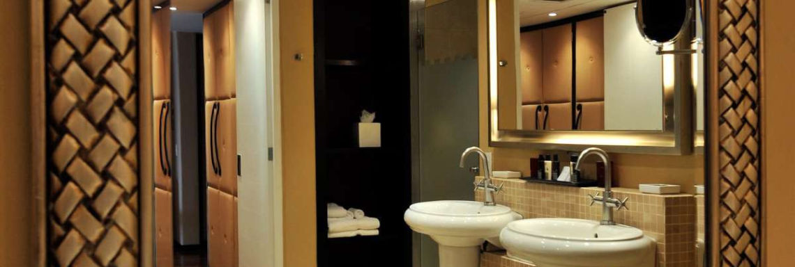 Club Med Ixtapa Pacific, Mexico - View of a modern bathroom with double sinks