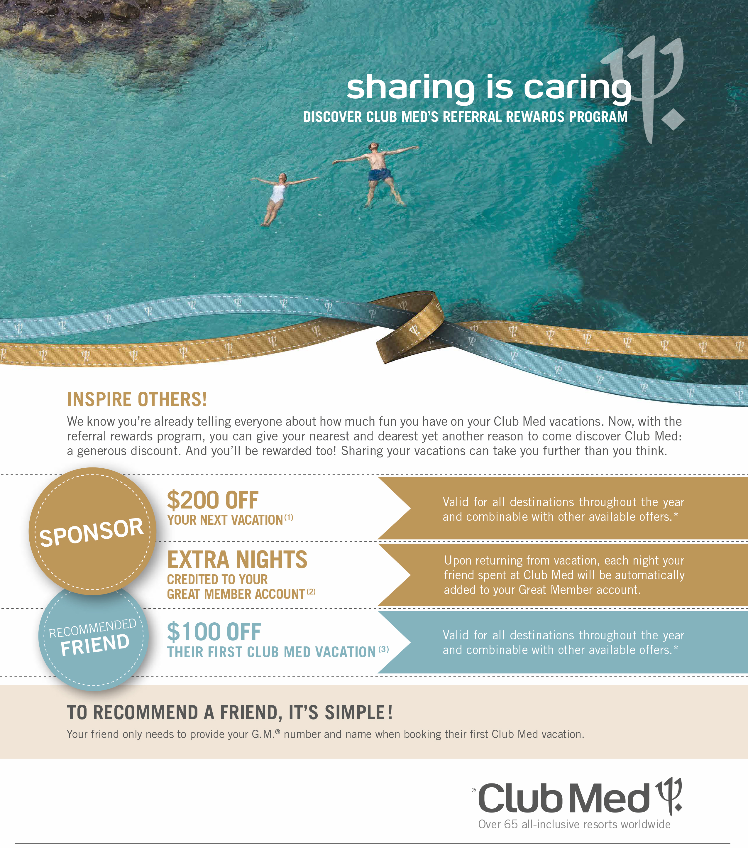 Club Med Referral Rewards