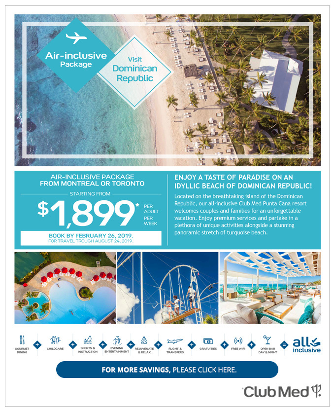 Club Med All Inclusive Packages