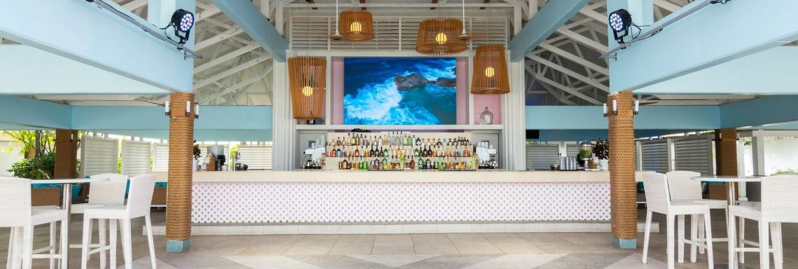 Front image of the Blue Coral bar