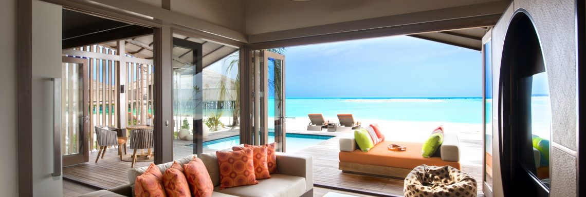 Club Med Kani, Maldives - Interior view of a stilt suite