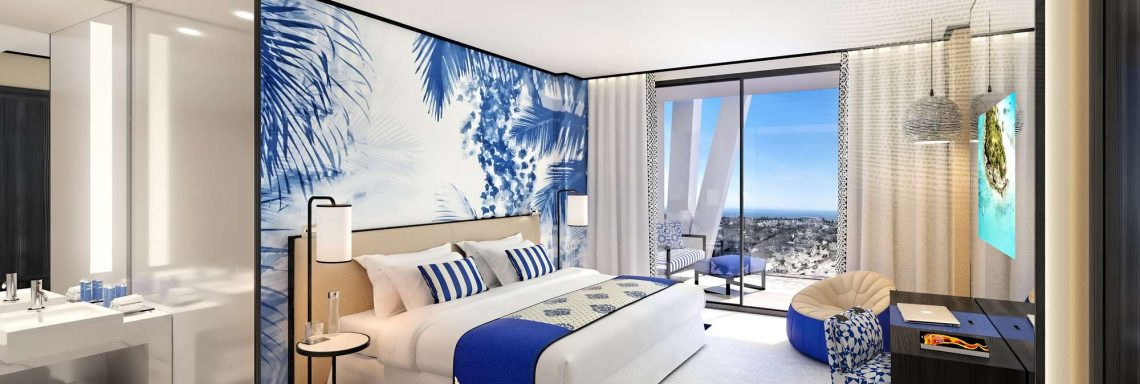 Club Med Magna Marbella - Rooms on a high floor overlooking the bay of Marbella.