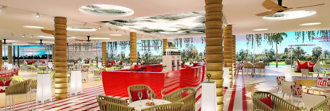 Club Med Magna Marbella - Spanish-style bar with all desired drinks
