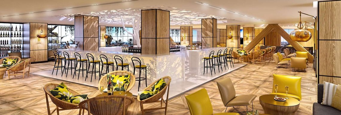 Club Med Magna Marbella - Gourmet Lounge with bar, wine cellar & Grocery store and a gourmet counter