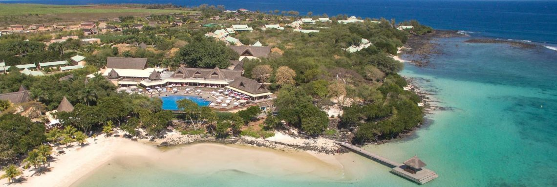Club Med Albion Plantation, Mauritius - Aerial view of the village complex
