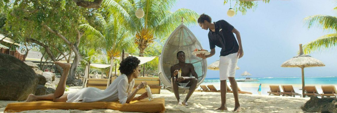 Club Med Albion Plantation, Mauritius - Valet services on sandy beaches