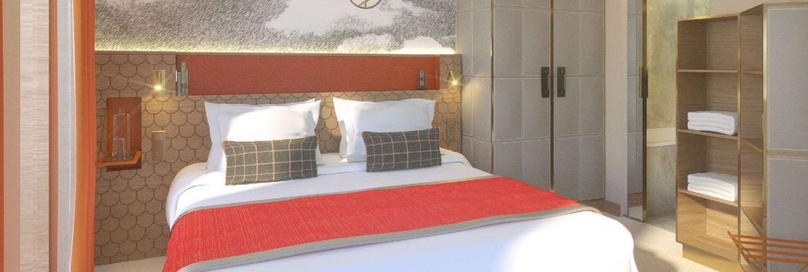 Club Med Alpes d'Huez in France - View of one the bedroom available at club med