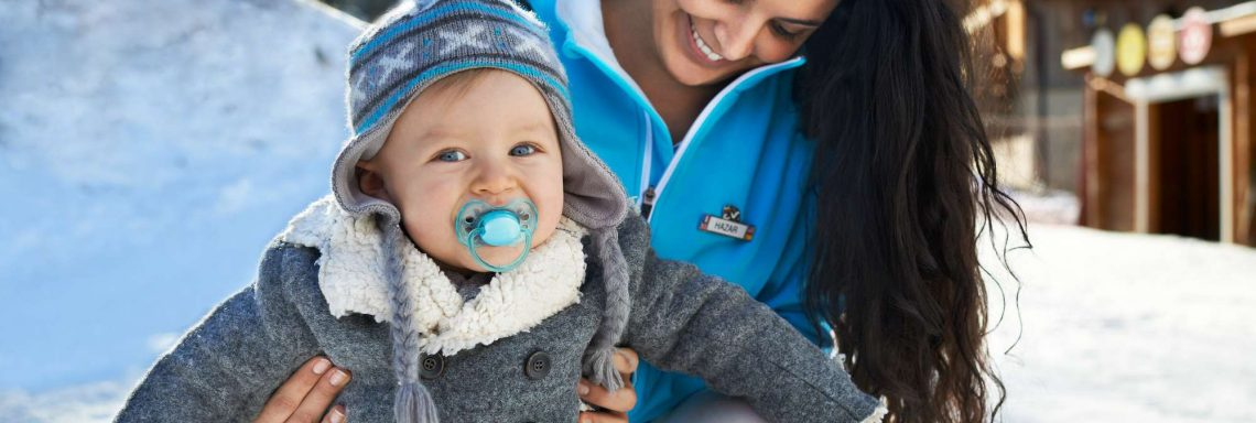 Club Med Alpes d'Huez in France - Picture of a G.S with a baby