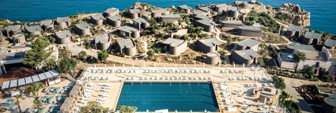Club Med Cefalù in Italy - Aerial vue of the complex
