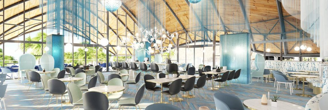 Club Med Miches Playa Esmeralda, Dominican Republic - Resort bar and lounge rendering image