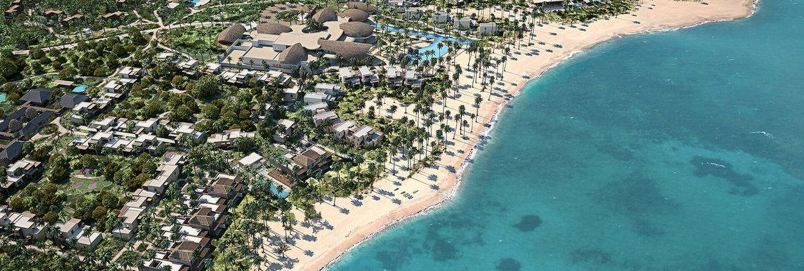 Club Med Miches Playa Esmeralda, Dominican Republic - Aerial view of resort