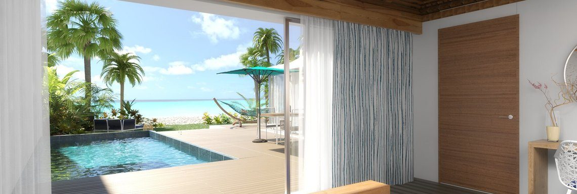 Club Med exclusive suite with private balcony