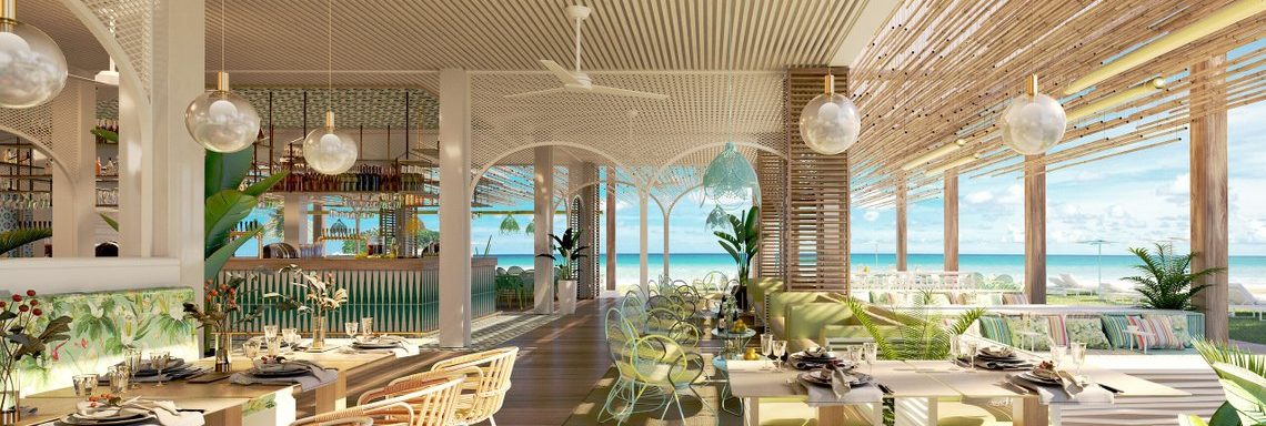 Club Med Miches Playa Esmeralda, Dominican Republic - Vief of the Coco Plum Beach Lounge Bar