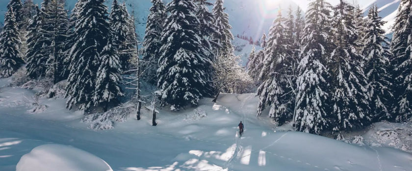 Club Med Arcs Panorama, in France - View of a group enjoying the pleasures of winter activities