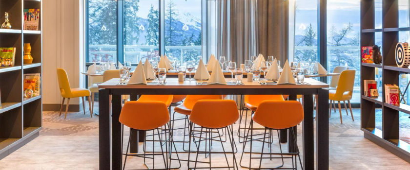 Club Med Arcs Panorama, in France - View of a dining area