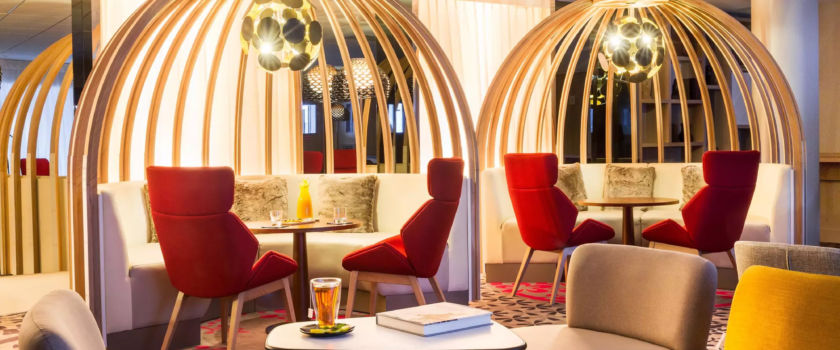 Club Med Arcs Panorama, in France - Interior picture of the Lounge Bar exclusively reserved for the Espace Collection