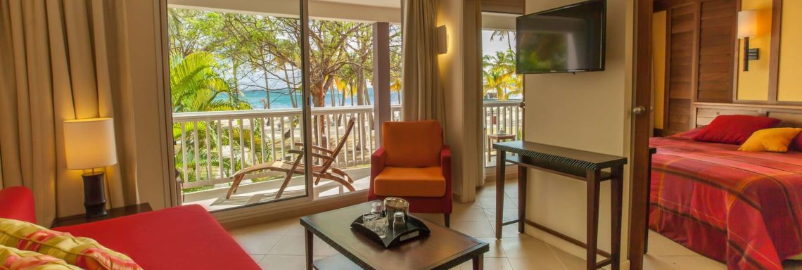 Discover the French West Indies from your balcony