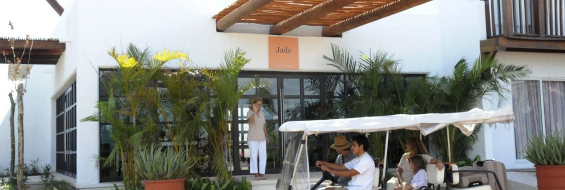 Club Med Cancun Yucatan, Mexico - Image of car service offered in the village