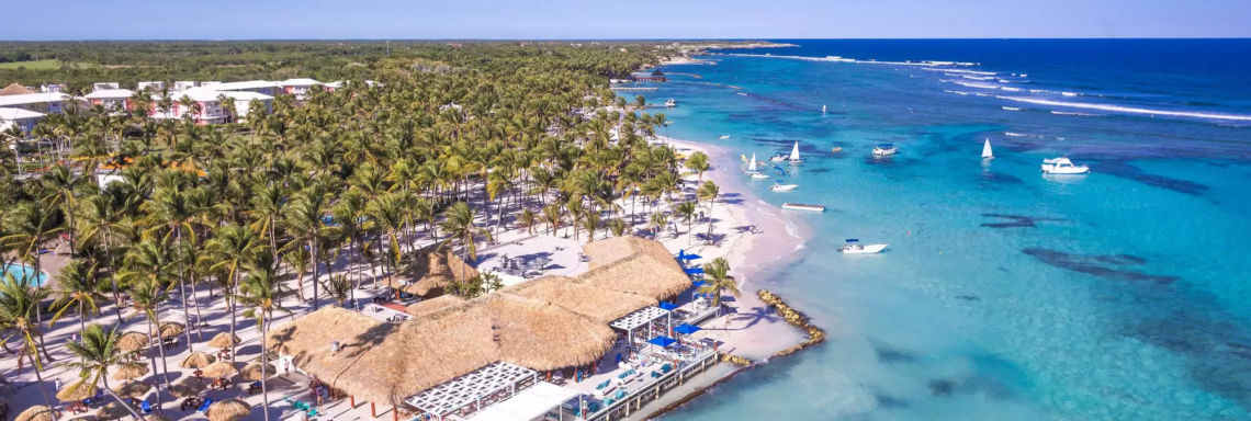 Club Med Punta Cana, Dominican Republic - Aerial view of the entire complex