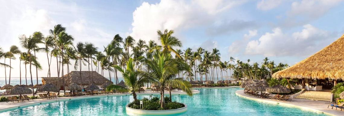 Club Med Punta Cana, Dominican Republic - Photo of one of the complex's many swimming pools