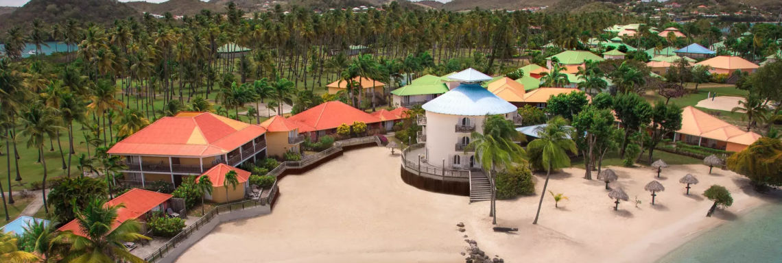 Club Med Buccaneer's Creek - Aerial view of the entire complex